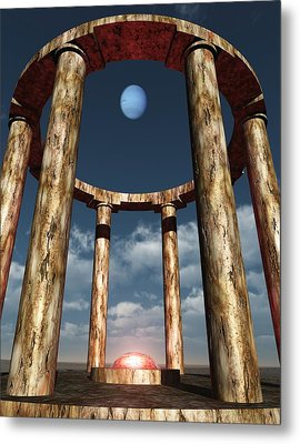 The Aligning Of Neptune Metal Print by Richard Rizzo