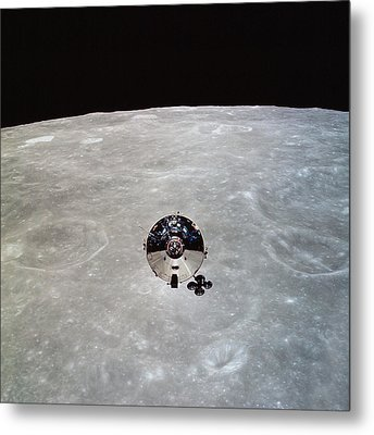 The Apollo 10 Command And Service Metal Print by Stocktrek Images