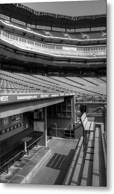 The Ballpark In Arlington Metal Print by Ricky Barnard