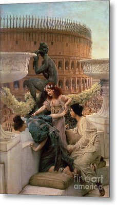 The Coliseum Metal Print by Sir Lawrence Alma-Tadema