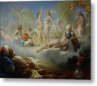 The Dream Of The Believer Metal Print by Achille Zo