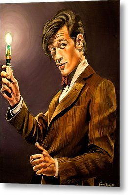 The Eleventh Doctor Metal Print by Emily Jones