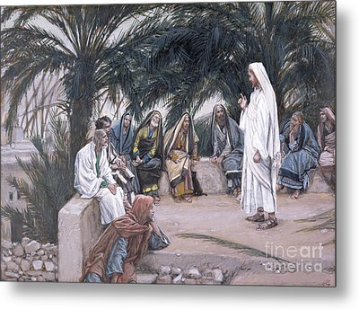 The First Shall Be The Last Metal Print by Tissot
