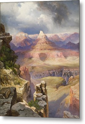 The Grand Canyon Metal Print by Thomas Moran