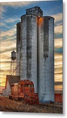 The Great Western Sugar Mill Longmont Colorado Metal Print by James BO  Insogna