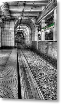 The Green Line Metal Print by JC Findley