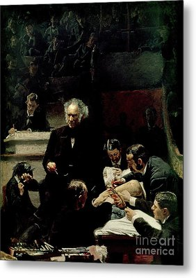 The Gross Clinic Metal Print by Thomas Cowperthwait Eakins