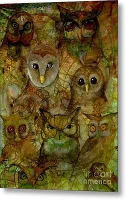 The Humble 9 Metal Print by Amy Sorrell
