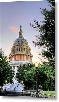 The Legislative Branch Metal Print by JC Findley