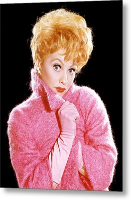 The Lucy Show, Lucille Ball, 1962-68 Metal Print by Everett