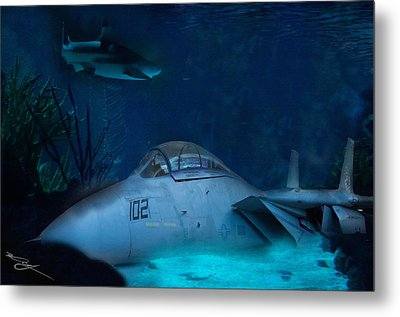 The Old Guard For The Tomcat Metal Print by Mark Vizcarra