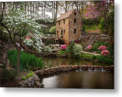 The Old Mill Metal Print by Jonas Wingfield