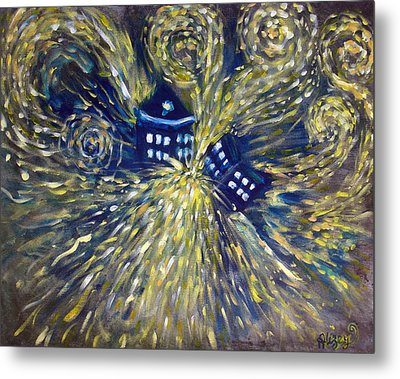 The Pandorica Opens Metal Print by Alizey Khan