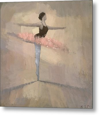The Pink Tutu Metal Print by Steve Mitchell