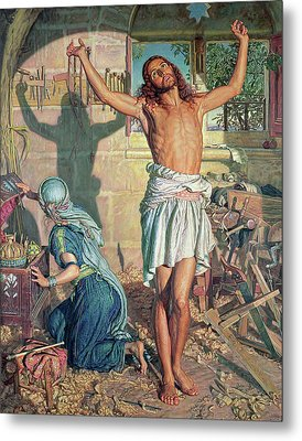 The Shadow Of Death Metal Print by William Holman Hunt