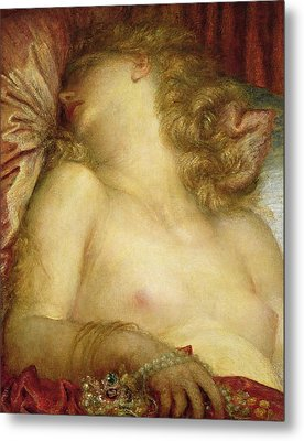 The Wife Of Plutus Metal Print by George Frederic Watts