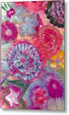 There Is A Whole Lot To See At The Bottom Of The Sea Metal Print by Anne-Elizabeth Whiteway