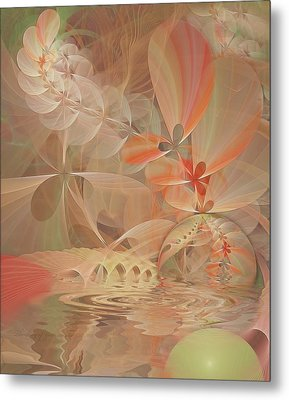 Thinking Of You Metal Print by Gayle Odsather