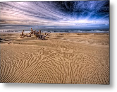 This Is Oregon State No.17 - Florence Beach Metal Print by Paul W Sharpe Aka Wizard of Wonders