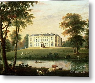 Thorp Perrow Near Snape In Yorkshire Metal Print by English School