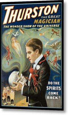 Thurston The Great Magician Metal Print by Unknown