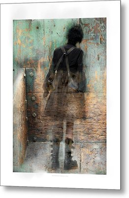 Time Passages - Beyond All Barriers Metal Print by Bob Salo