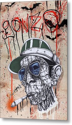 Too Weird To Live Too Rare To Die Metal Print by Tai Taeoalii