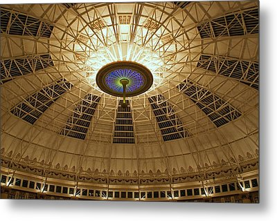 Top Of The Dome Metal Print by Sandy Keeton