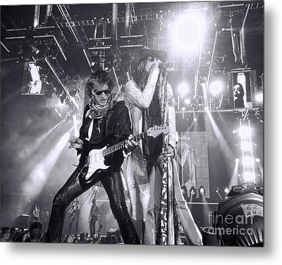 Toxic Twins Metal Print by Traci Cottingham