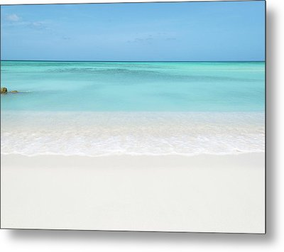 Tranquil Beach Metal Print by William Andrew