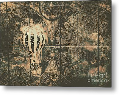 Travelling The Old World Metal Print by Jorgo Photography - Wall Art Gallery