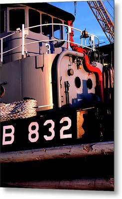 Tug Boat Metal Print by Thomas R Fletcher