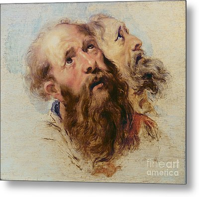 Two Apostles Metal Print by Rubens
