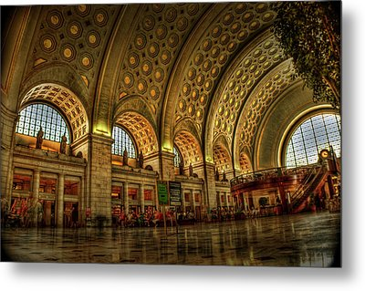 Union Station - Dc Metal Print by Frank Garciarubio