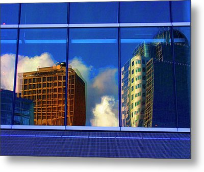 Vancouver In Color Metal Print by Barbara  White