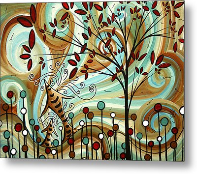 Venturing Out By Madart Metal Print by Megan Duncanson