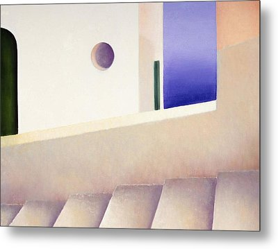 View From The Back Street Metal Print by Gloria Cigolini-DePietro