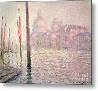 View Of Venice Metal Print by Claude Monet