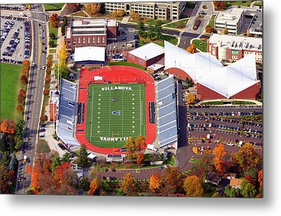 Villanova Stadium 800 East Lancaster Avenue Jake Nevin Fieldhouse Villanova Pa 19085  Metal Print by Duncan Pearson