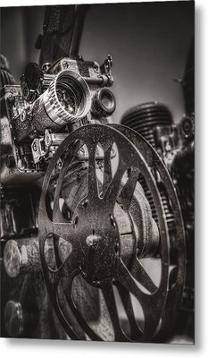 Vintage 16mm Metal Print by Scott Norris