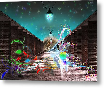 Visitors Metal Print by Svetlana Sewell