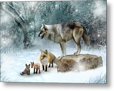 Vladimir Vanessa And The Vixens  Metal Print by Julie L Hoddinott