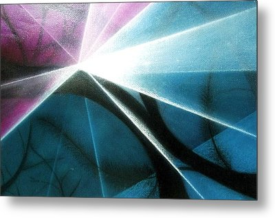 Wake Up In The Forest Metal Print by Kumiko Mayer