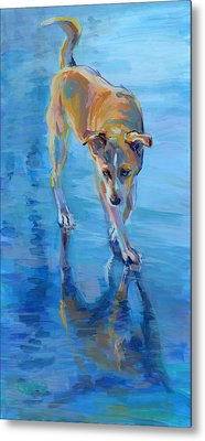 Well Hello Gorgeous Metal Print by Kimberly Santini