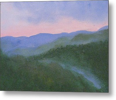 Where Mists Nestle Metal Print by Trilby Cole