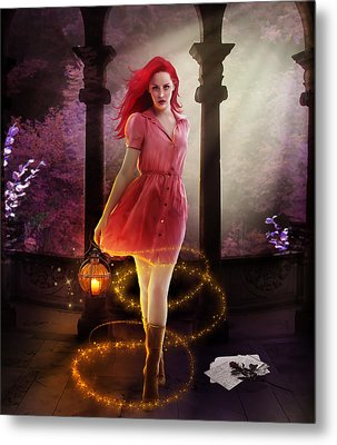 Wicked Metal Print by Mary Hood