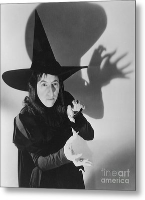 Wicked Witch Of The West Metal Print by Granger