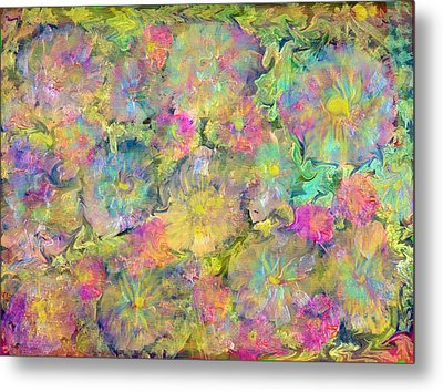 Wildflowers Metal Print by Don  Wright