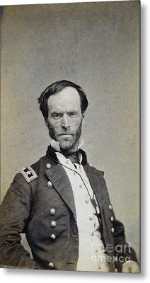 William Tecumseh Sherman Metal Print by Granger