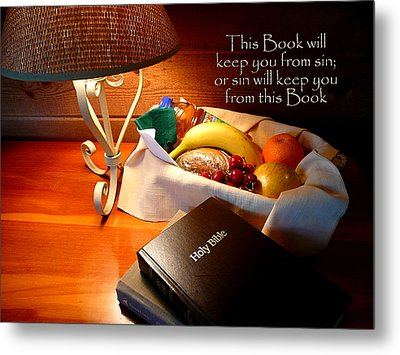 Word Of God Metal Print by Cindy Wright